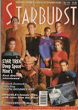 Starburst No.174 1993 ROBERT ZEMEKIS, STAR TREK DS9 FIRST EPISODE