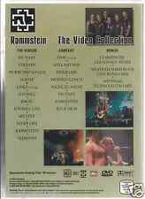 rare DVD PROMO ONLY Metal 80's  DU HAST stripped LINKS 2-4 engel MUTTER seemann