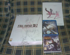 FINAL FANTASY XIII-2 CRYSTAL EDIT. PS3 - PAL ESP -PRECINT. + EXTRAS - ENVÍO 24H
