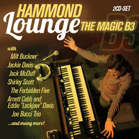 CD Hammond Lounge The Magic B3 von Various Artists   2CDs