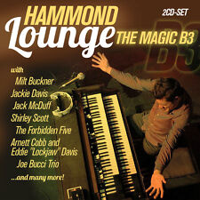 CD Hammond Lounge The Magic B3 d'Artistes divers 2CDs