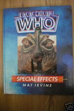 DOCTOR WHO SPECIAL EFFECTS MAT IRVINE HB 1ST ED RARE