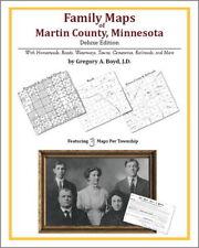 Family Maps Martin County Minnesota Genealogy MN Plat
