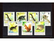 1030++HONGRIE   SERIE TIMBRES  ANIMAUX SAUVAGES  N°2