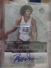 2014-15 UPPER DECK SP REGGIE THEUS SIGN OF THE TIMES AUTO CARD # SOT-RT