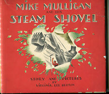 Mike Mulligan and his Steam Shovel by Virginia Lee Burton - (hb,dj,1939)