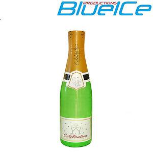 Giant 180cm Novelty Wedding Champagne Bottle Inflatable Party Decoration UK SELL