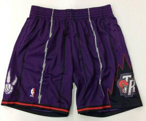 Toronto Raptors Mitchell & Ness NBA Authentic Swingman Men's Mesh Shorts Purple