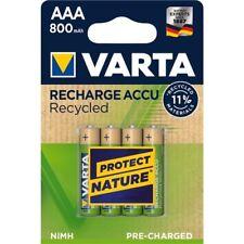 12 x AKKU VARTA Recharge Accu Recycled 800mAh AAA Micro - NEU Akkus 56813