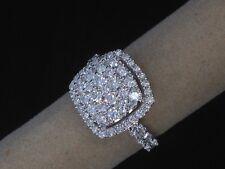 Ladies Diamond & 18k White Gold Ring