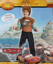 Disney Cars Tow Mater Boys Costume Size Small 4-6 NWT