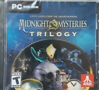 Midnight Mysteries Trilogy By Atari PC DVD-ROM 3 Hidden Object Computer Game