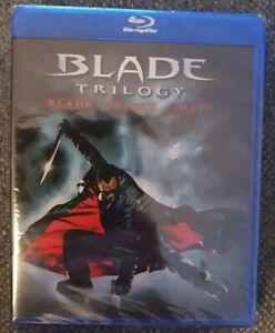 Blade Trilogy Blu-ray Brand New Sealed Region A
