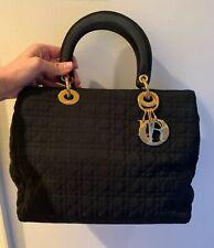Christian Dior Black 'Lady Dior' Bag