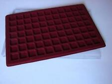 Plastic Coin Tray For 77 Coins Up To 23mm 1Euro Cent, 1/10 Ounce Maple Leaf Gold