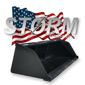 Storm High Capacity Snow Mulch Bucket FITS KUBOTA CASE CAT JOHN DEERE BOBCAT