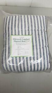NEW~*L.L. Bean~KING FLANNEL COMFORT SHEET SET~Ultra-Soft~VELVET FINISH~MSRP $159