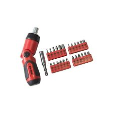 AMTECH 26pc RATCHET SCREWDRIVER AND BIT SET 3 POSITION TORX HEX PHILLIPS POZI