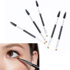 Eyebrow Brush Dual ended Duo Brow Eyeliner Angled Cut Spoolie Brush-Makeup S2E8