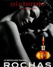 Publicité Advertising 1997  Parfum alchimie de ROCHAS