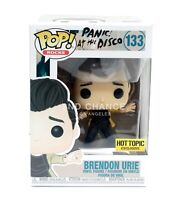 MINT Funko Pop Panic At The Disco BRENDON URIE #133 Hot Topic Exclusive Figure