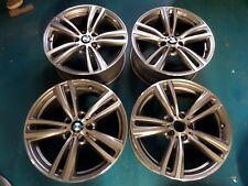 "Originale BMW 3 Serie 4 F30 F31 M 442 Metallico Grigio 19 "" Pollici Set di 4"