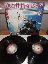 "Iron Maiden ""2 Minutes To Midnight · Aces High"" 2 LP EMI ITA 1990 - GATEFOLD"