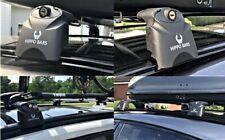 Hippo Bars Lockable Roof Rack Cross Bars Set Fits Jaguar E-Pace Since 2018