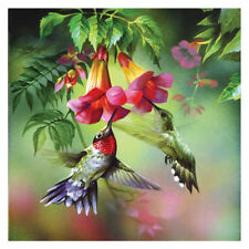Bird Flower DIY 5D Diamond Embroidery Cross Stitch Painting Kit Craft Home Decor