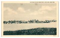 Cottages facing Broad Bay, Lime Lake, NY Postcard