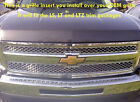 07-2013 Chevy Silverado 1500 Chrome Mesh Grill Grille Insert Insert Only