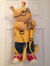 Arthur Plush Stuffed Doll Animal Backpack 1999 Vintage NeW Wildkin Packpal Rare