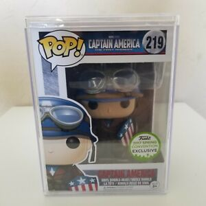 FUNKO POP! Captain America #219 - 2017 Spring Exclusive AUTHENTIC w/ Protector