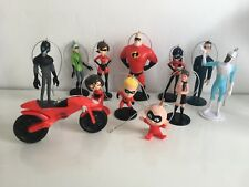 12 Disney Incredibles 2 Christmas Tree Decorations, Mr Incredible, Small Figures