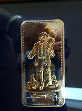 1992 SilverTowne Emmett Kelly Jr My Favorite Things ST-210 Silver Art Bar P2591