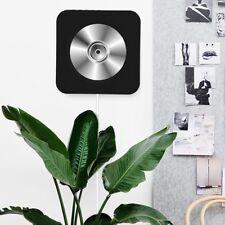 Lettore CD Montabile a Muro Portatile Bluetooth Stereo Radio nero+Telecomando