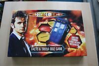 BBC Doctor Who Facts & Trivia Quiz Board Game Dr Who Spinning Tardis Toy Brokers
