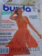 MAGAZINE BURDA  GARDE-ROBE COMPLETE POUR LES VACANCES JUIN  1992