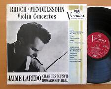 Vic 1033 Jaime Laredo Mendelssohn rupture Violin Concertos RCA Mono EX/VG