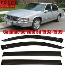 Fo Cadillac De Wille Sedan 93-99 Window Smoke Visor Rain Sun Guard Deflectors