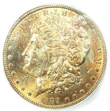 1889-S Morgan Silver Dollar $1 Coin - ICG MS65 - Rare in MS65 - $1,620 Value!