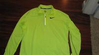 Nike usa track field shirt Neon  rare L xc pro elite  singlet  l/s