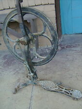 ANTIQUE MILITARY ARMY DENTIST EQUIPMENT FOOT PEDAL DENTAL DRILL WWI