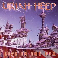 URIAH HEEP - LIVE IN THE USA  CD NEU