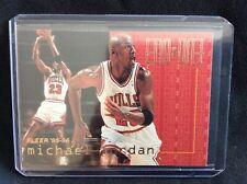 1995-96 Fleer End to End Insert Card Michael Jordan #9...AWESOME SHAPE!!