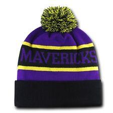 Minnesota State Mankato Mavericks University NCAA Winter Pom Cuff Beanie Cap Hat