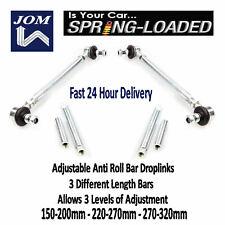 JOM Front Adjust Drop Links for Toyota Celica 1.8i (ZZT230/231) 16V 08/99-03/06