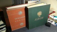 WW stamp collection in 2 Vol. Schaubek albums w/ 7K or so stamps ~ various years