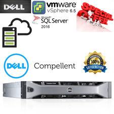 Dell Compellent SC200 24TB 12x 2TB SAS 7.2K DUAL PSU & EMM Expansion Enclosure