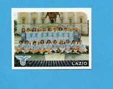 PANINI CALCIATORI 2002-03- Figurina n.712- LAZIO  FEMMINILE -SQUADRA/TEAM -NEW